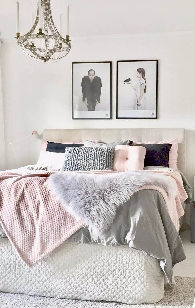 Get your bedroom decor summer ready with blush pink and ...